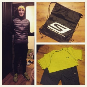 Hopefully my Skechers gear and GORun Ultra's will keep me warm and upright out west...