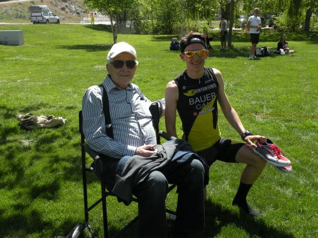 Great to share this race with my Papa, who took a road trip of his own to support me!