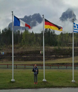 Oh, and we stopped in Canmore on the way home so I could do a long run at 4600 at the Olympic Nordic Skiing Centre. Where it rained.