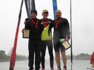 Your top 3 overall (from left): Garry Mathieu, Jesse Bauer, Moritz Haager