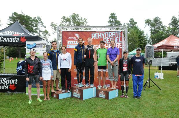 2015 Bracebridge Podium